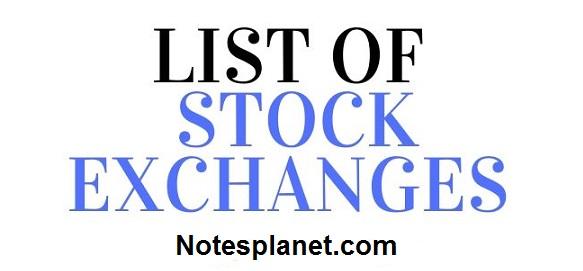stock excahange