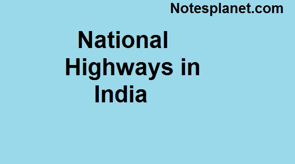 National Highways in India