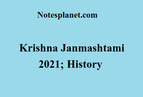 Krishna Janmashtami 2021